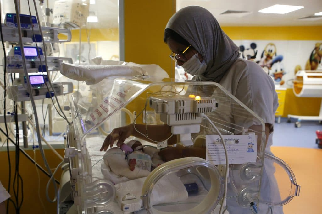 Жена от Мали роди 9 бебета